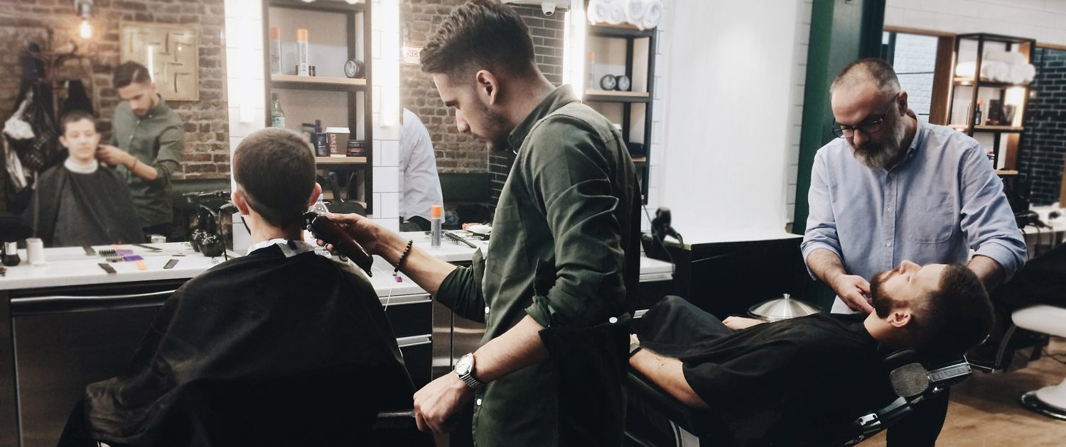 Tabard Barbers offers high quality men's hair cuts & male grooming services at 13 Tabard Street, London SE1.
