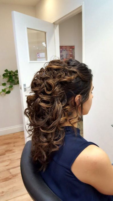 Hair up for a smart event, ascot or bridal