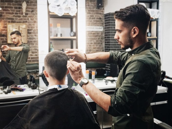 The very best hair cuts and immaculate attention to detail.